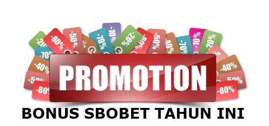 Promosi Judi Online Sbobet