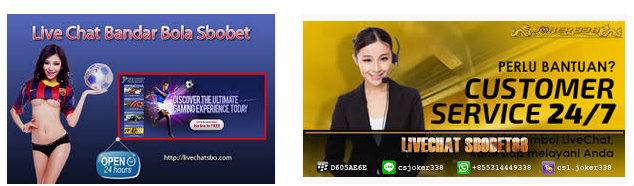 bantuan layanan live chat sbobet
