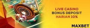 bonus judi online maxbet
